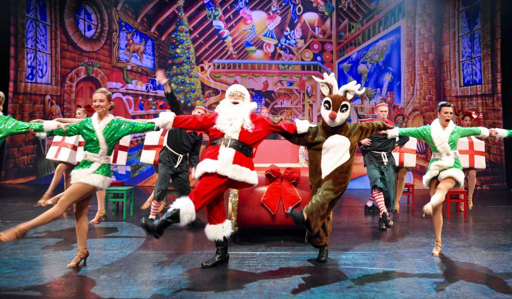 Dallas Summer Musicals will present the cast of 'Broadway Christmas Spectacular' at Fair Park Music Hall Dec. 6-18, 2016.S