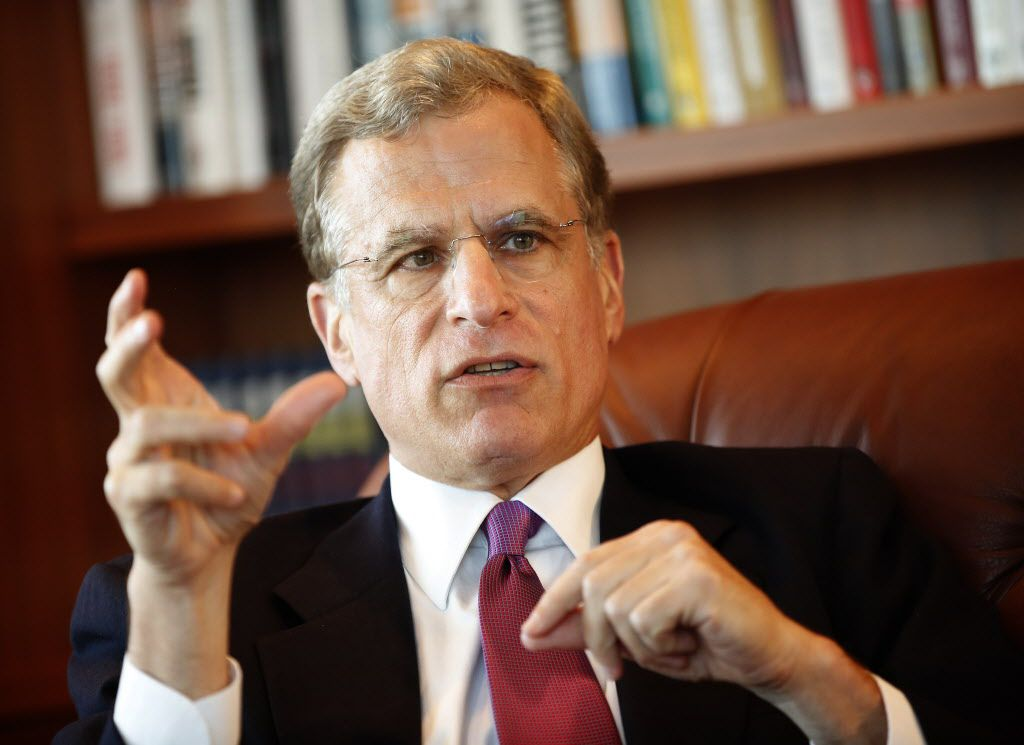 Federal Reserve Bank of Dallas President and CEO Robert S. Kaplan said developing sensible immigration policies are key if we want a healthy economy. (Tom Fox/The Dallas Morning News)
