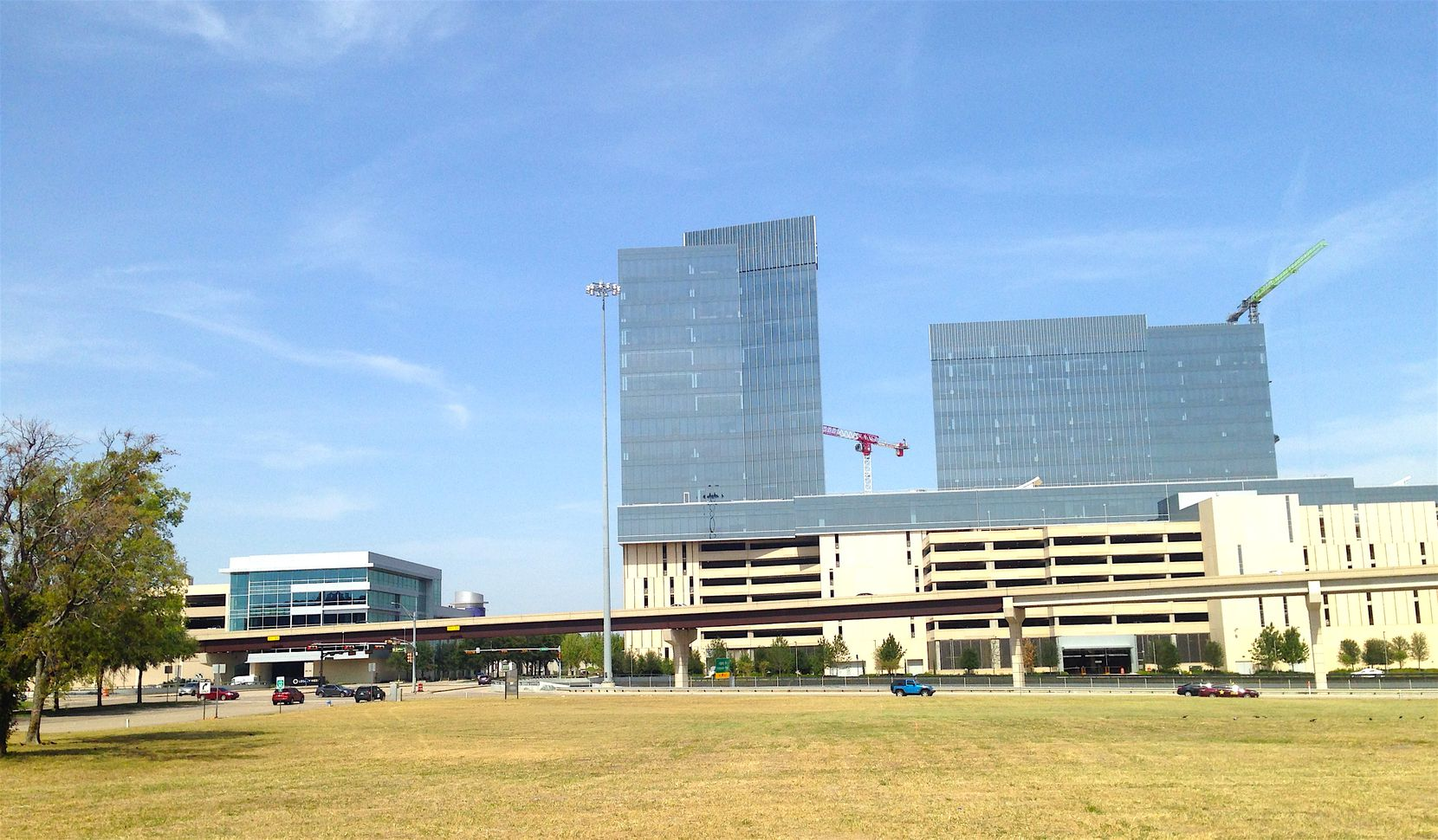The development site is across the tollway from Liberty Mutual Insurance's Plano regional office center.