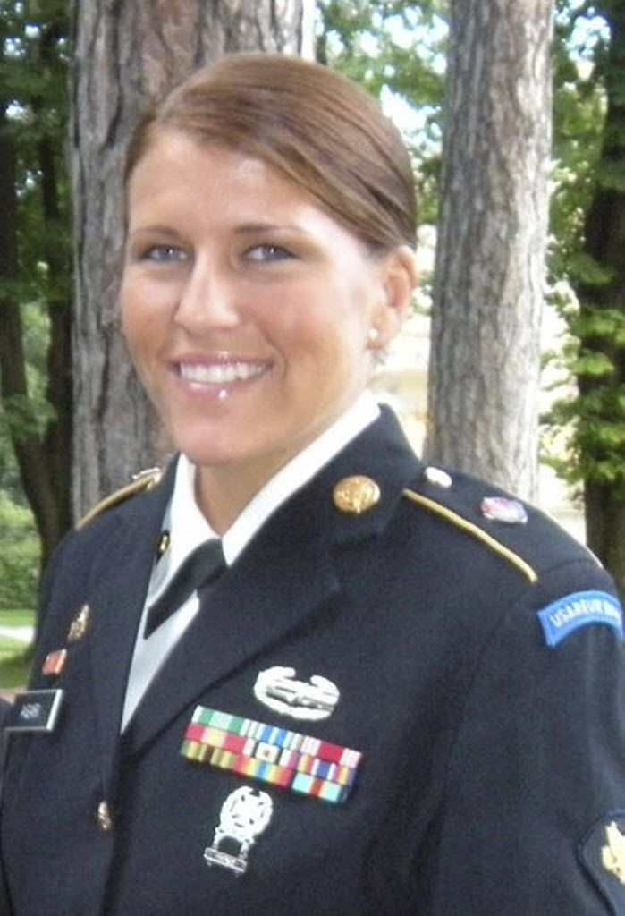 Sgt. Kim Agar was diagnosed with a traumatic brain injury in May 2011.