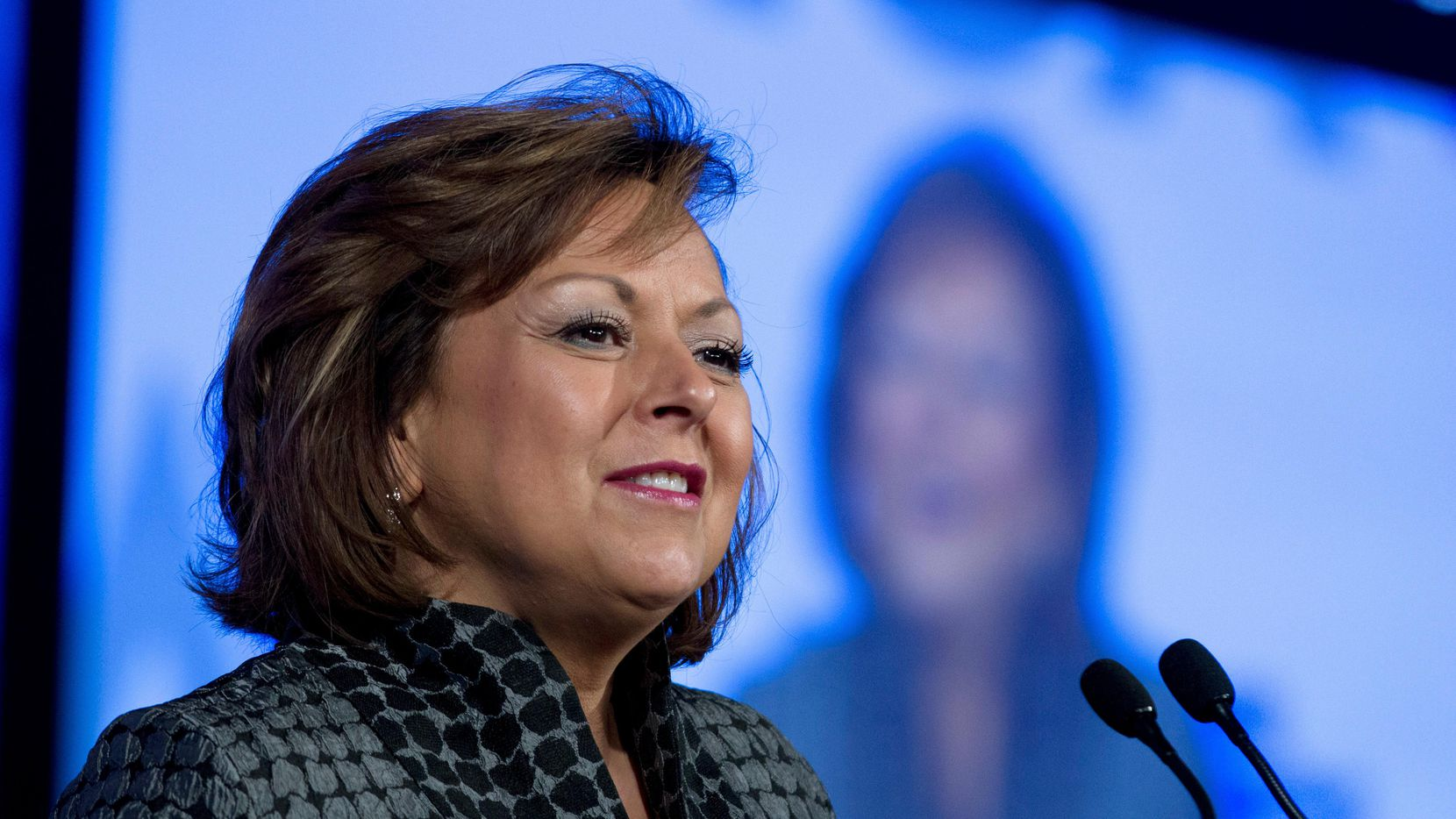 La gobernadora de New Mexico Susana Martínez. (AP/Jose Luis Magana)