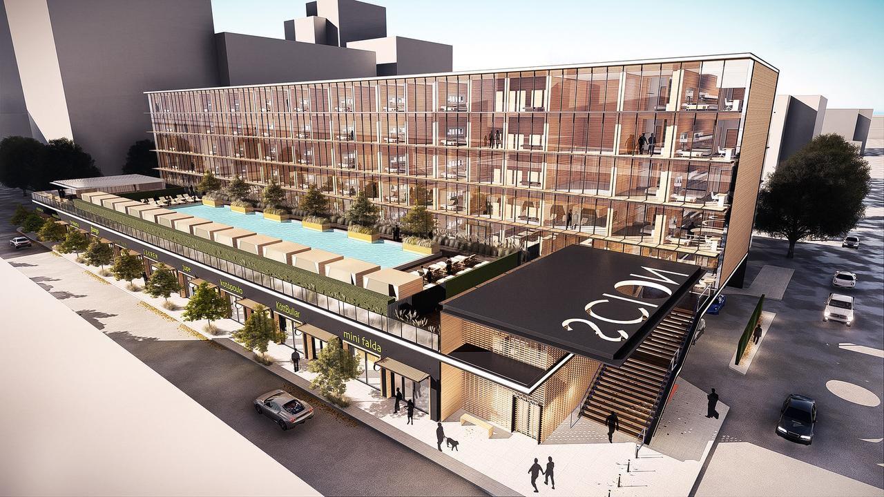 The 6-story Scion Hotel by Trump Hotels is planned on Young Street in downtown Dallas.El Scion Hotel, del grupo Trump Hotels, estará ubicado en Young Street en Dallas (ALTERRA INTERNATIONAL/CORTESÍA)