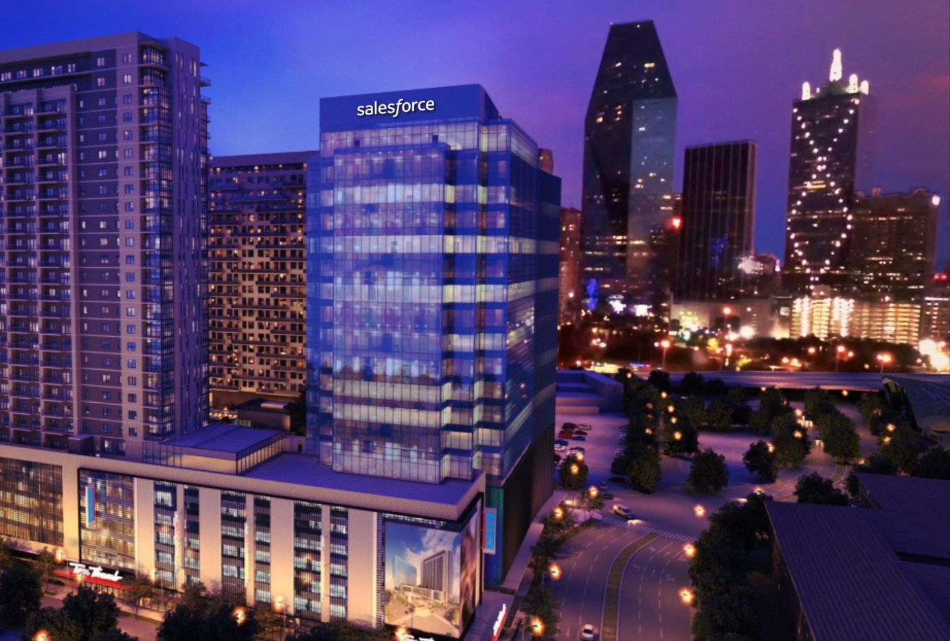 California-based Salesforce is consolidating its Dallas operations in the new Union office tower in Uptown.