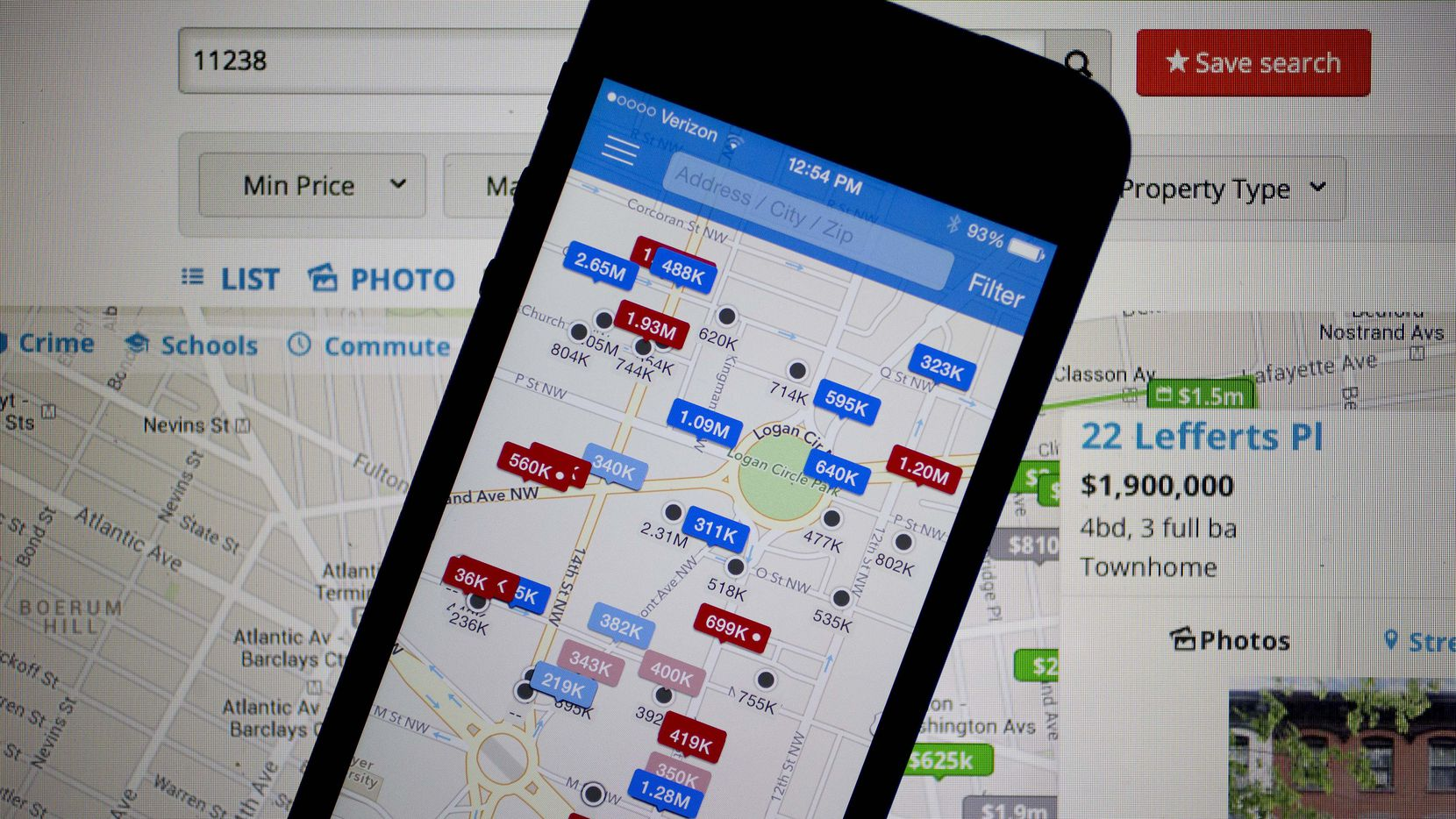 Zillow buying Trulia to make real estate an on chase mobile, instagram mobile, bank of america mobile,