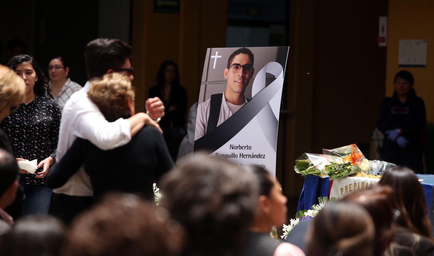 Norberto Ronquillo era estudiante en la Ciudad de México. AGENCIA REFORMA.