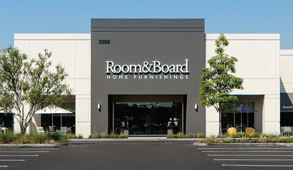 Room & Board store in Costa Mesa, Calif.