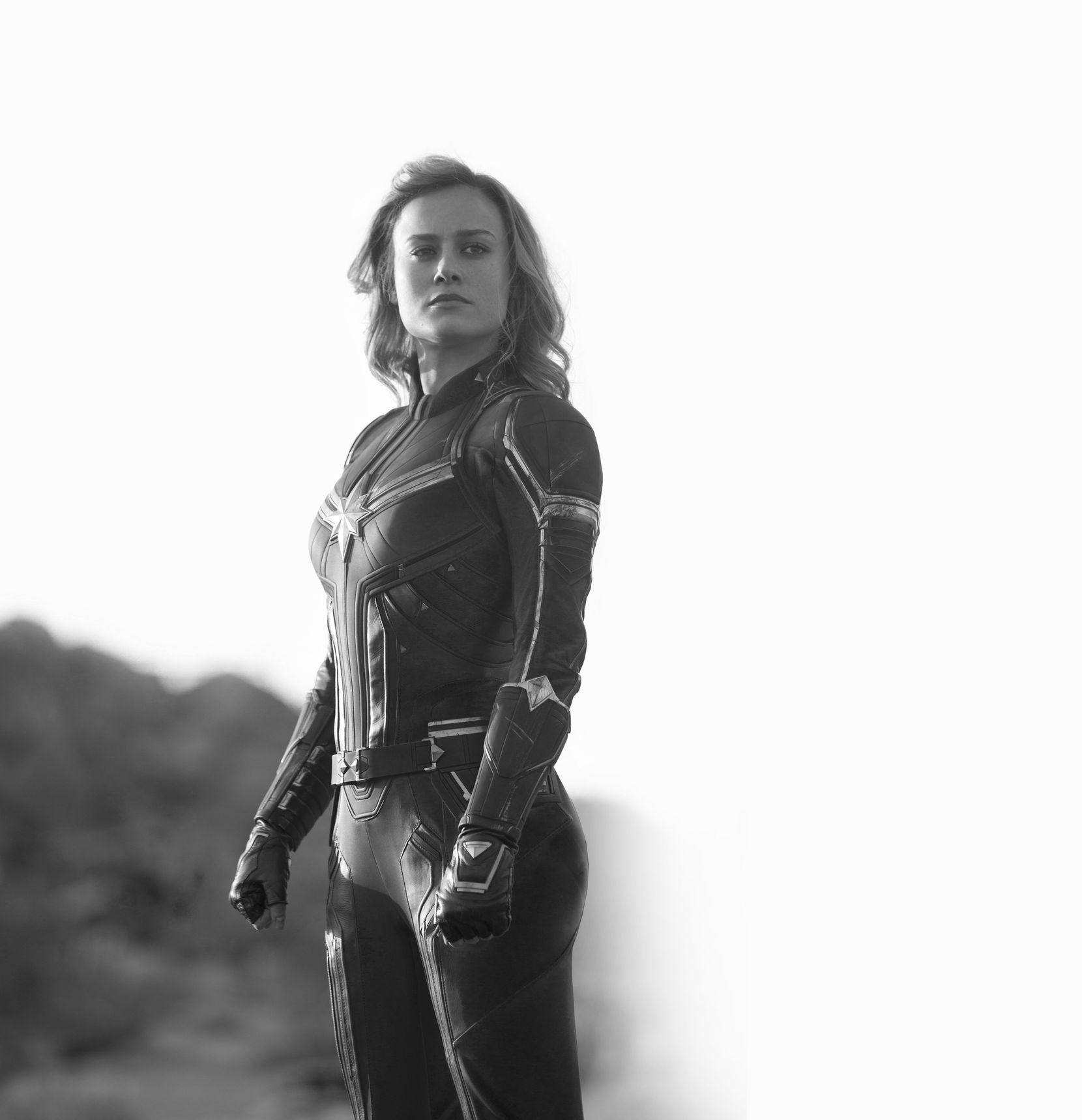 """Briel Larson es la protagonista de """"Captain Marvel"""".(marvel studios)"""