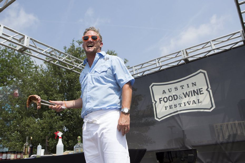 In addition to being a TV personality, Tim Love cooks at several well-known food festivals.