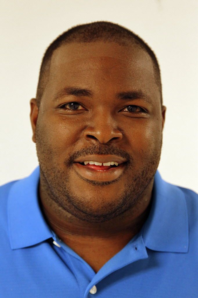 Jonathan Smith is principal at T.W. Browne Middle School.  (Michael Ainsworth/The Dallas Morning News)