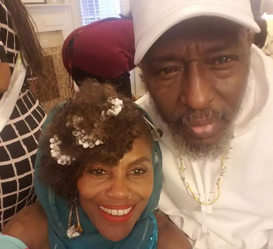 Arthur Riggins and his wife, Isis Brantley
