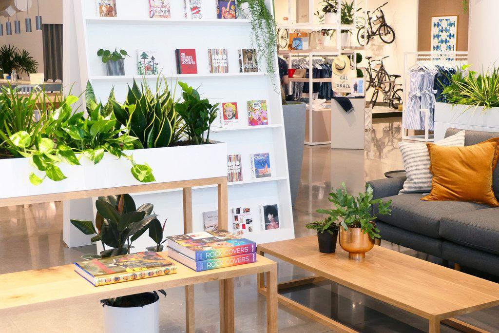 Neighborhood Goods in Plano has added art books seller Taschen to its lineup.