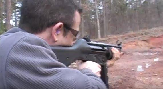 A still shot from a Mamba Guns video.