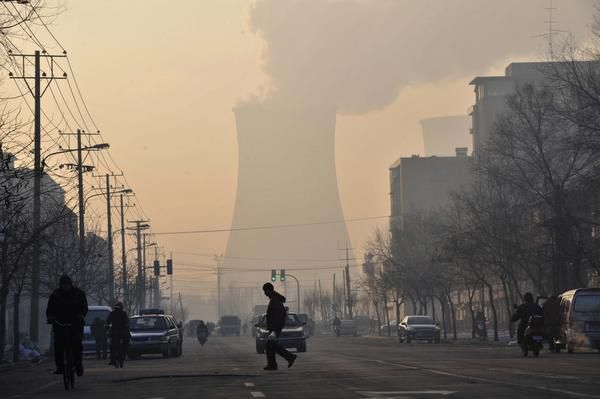 Roughly 65 percent of China's energy consumption comes from coal-fired power plants — a major source of greenhouse-gas pollution.