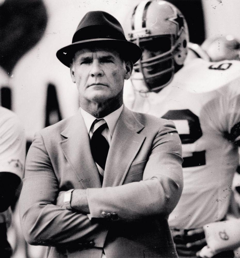 Dallas Cowboys coach Tom Landry