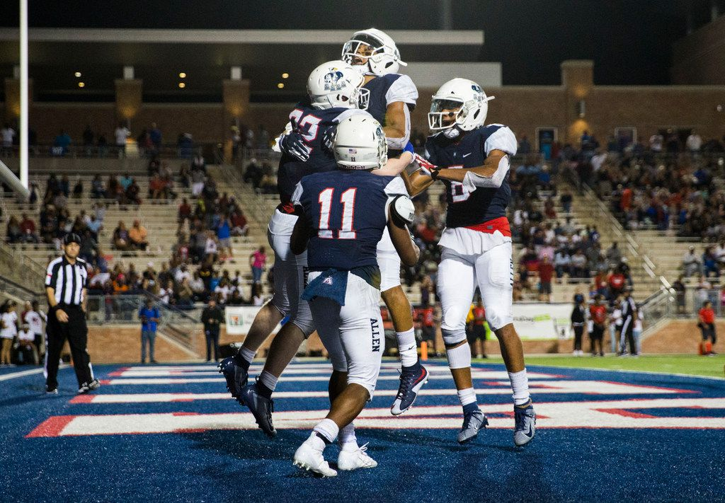 With 41-28 win vs  Cedar Hill, Allen passes its first test