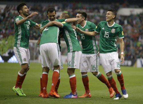 México es el líder del Hexagonal final de Concacaf. Foto AP