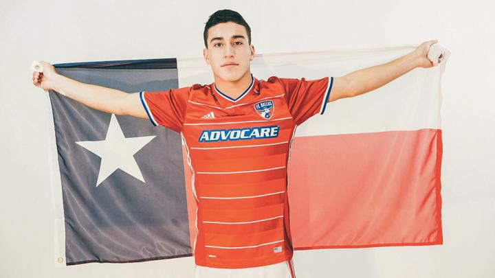 Zendejas es surgido de la academia del FC Dallas. También juega con las inferiores de la selección estadounidense. Foto Cortesía FC Dallas.