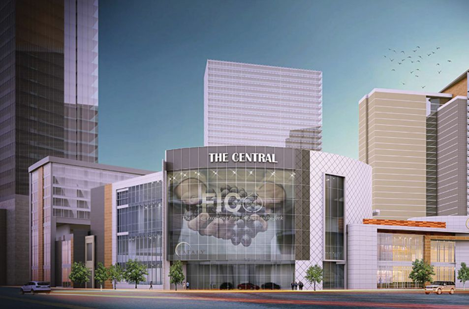 DeLaVega Development is planning a mixed-use project called The Central.