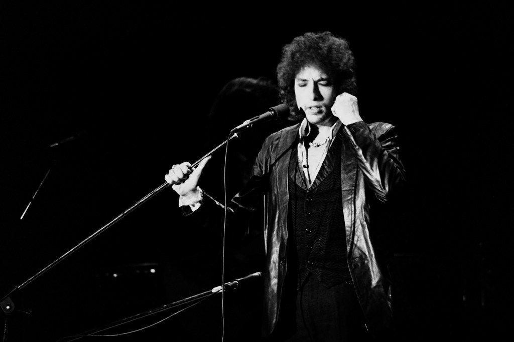 Bob Dylan, circa 1978.