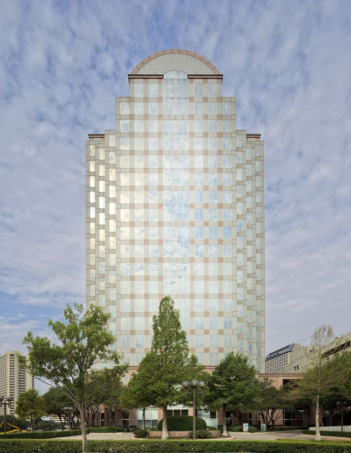 The Tower on Lake Carolyn is at 909 Lake Carolyn Parkway in Irving.