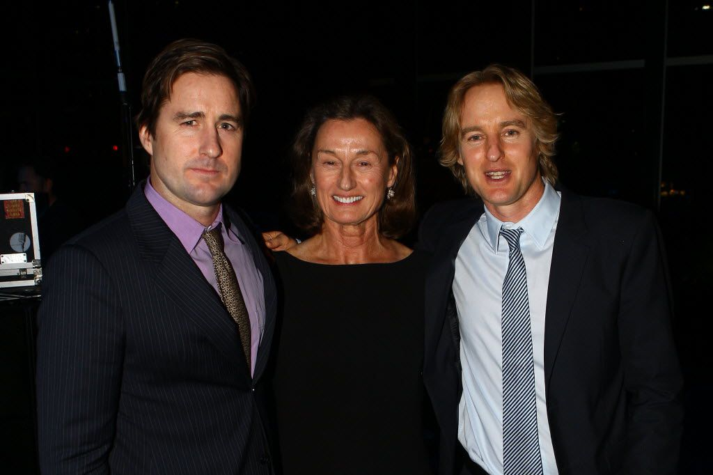 Luke, Laura and Owen Wilson attended KERA-TV's 50th anniversary gala in 2011, which included a tribute to KERA pioneer Bob Wilson, Laura's husband and Luke and Owen's father.