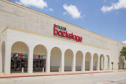 La tienda Macy's Backstage en Town East Mall, en Mesquite, Texas.  Foto AP