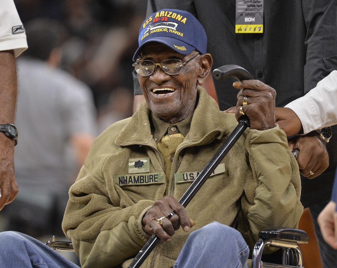 In March 2017, Richard Overton was given a special presentation honoring him as the oldest living American war veteran, during a timeout in an NBA basketball game between the Memphis Grizzlies and the San Antonio Spurs.