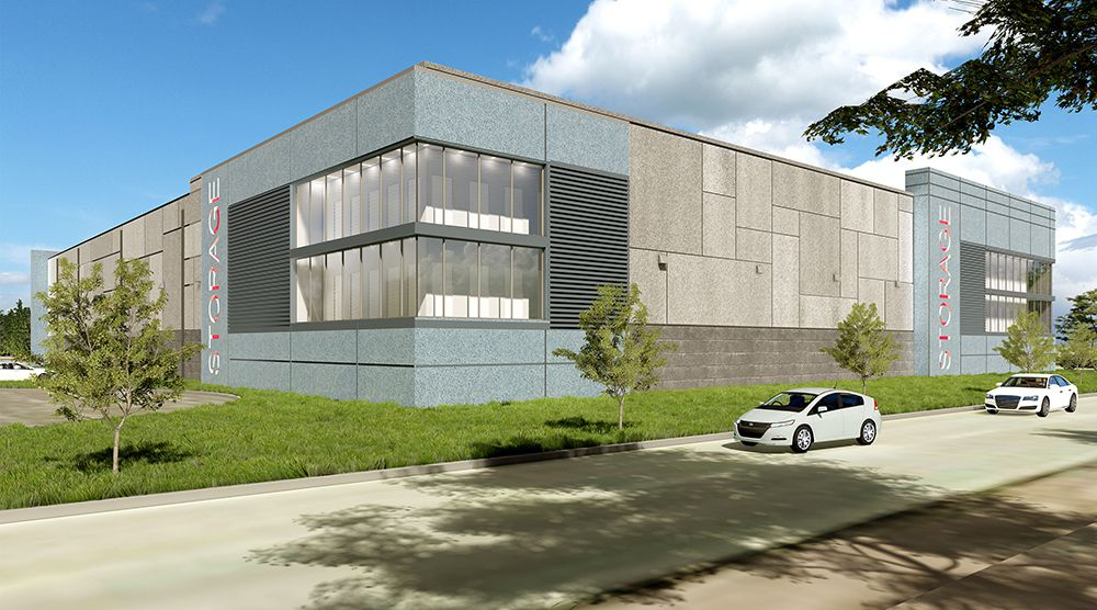 The Lone Star Self Storage building will be west of downtown Dallas.