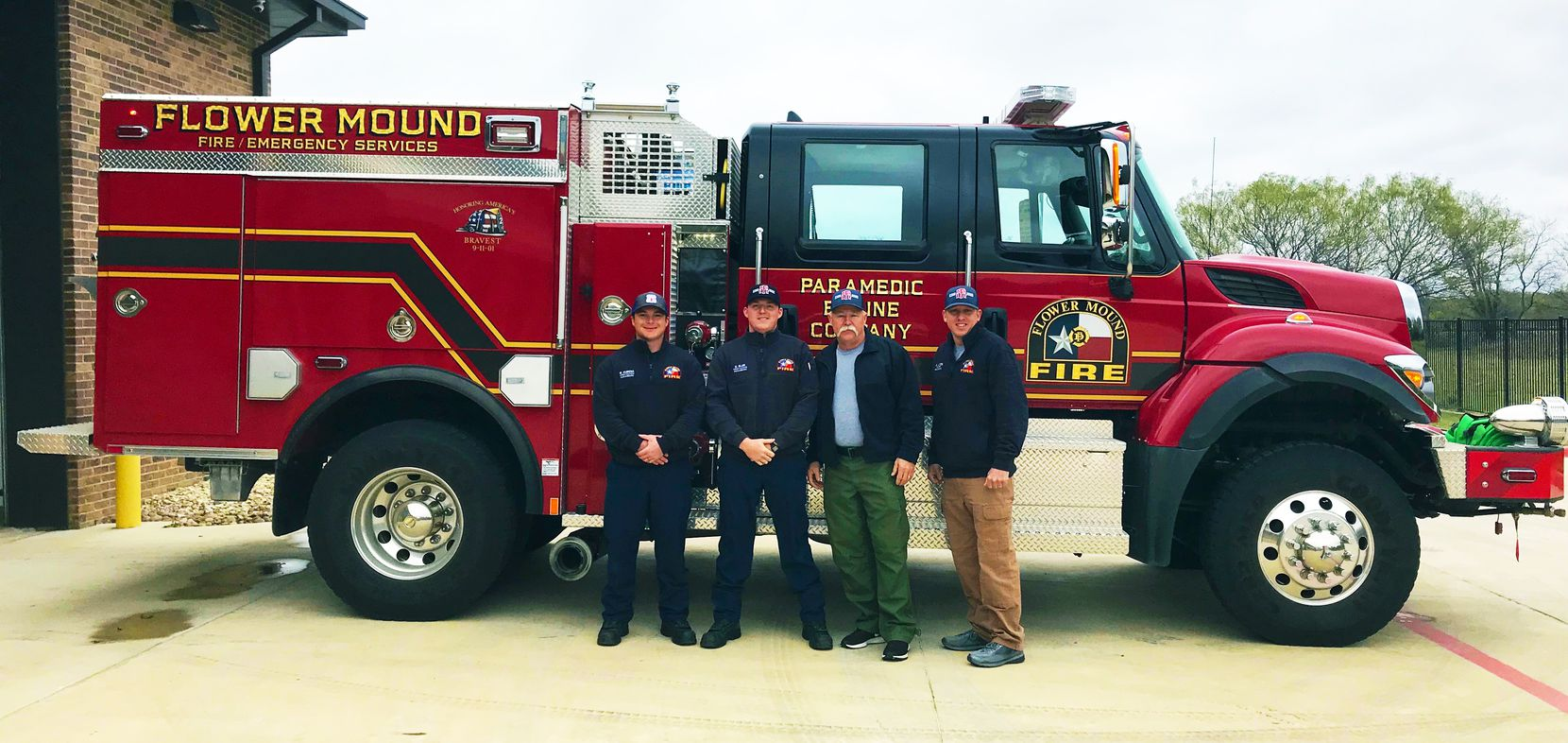 Flower Mound Fire Department sent five firefighters and a vehicle to California to help battle the Woosley fire.