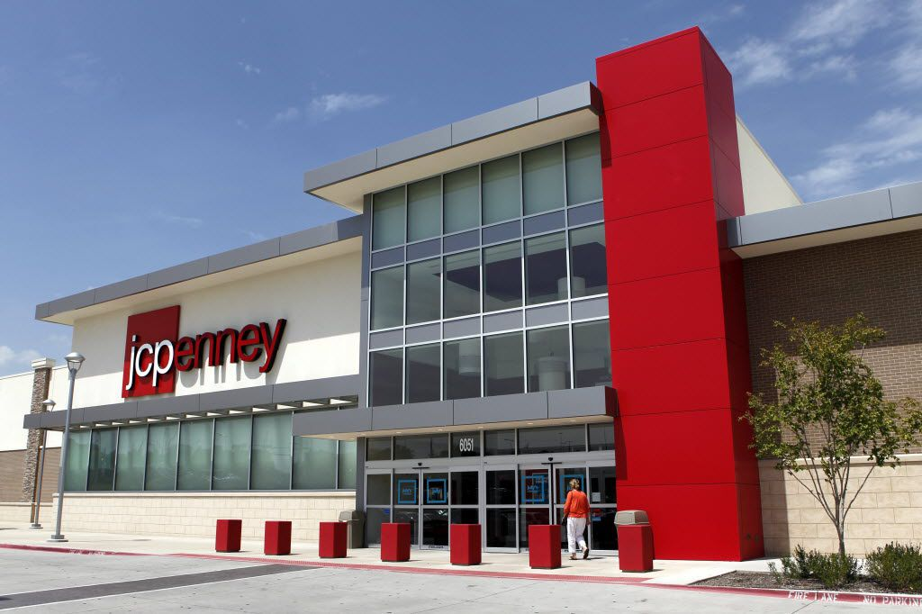 Exterior of J.C. Penney at Timber Creek Crossing in Dallas..