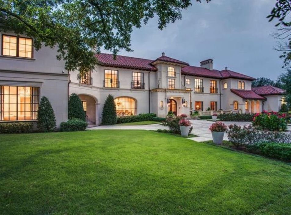 This Highland Park estate has more than 18,000 square feet of space.