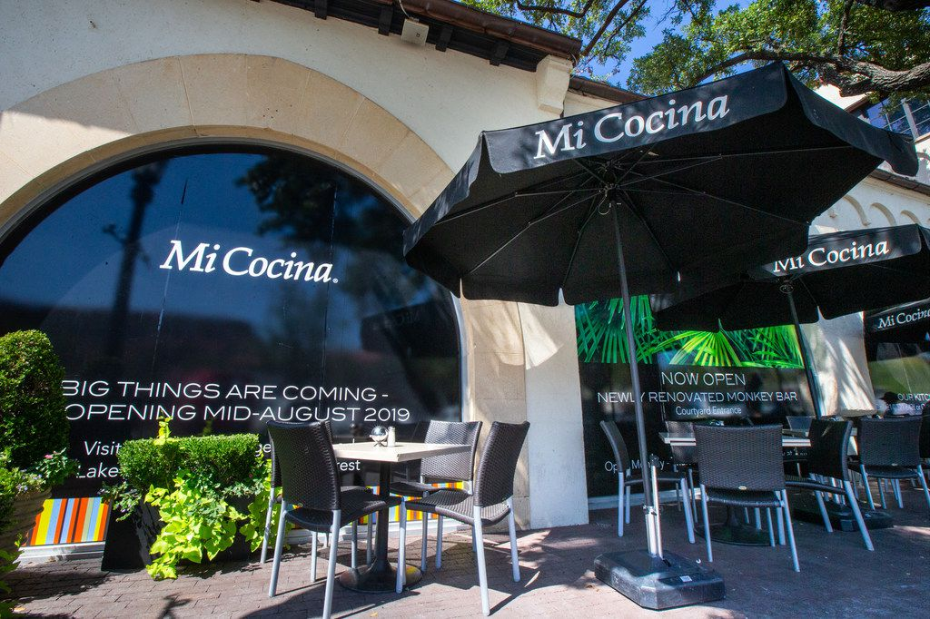 Mi Cocina in Highland Park Village reopens Aug. 22, 2019. It underwent a chic makeover and was closed for nearly two months.