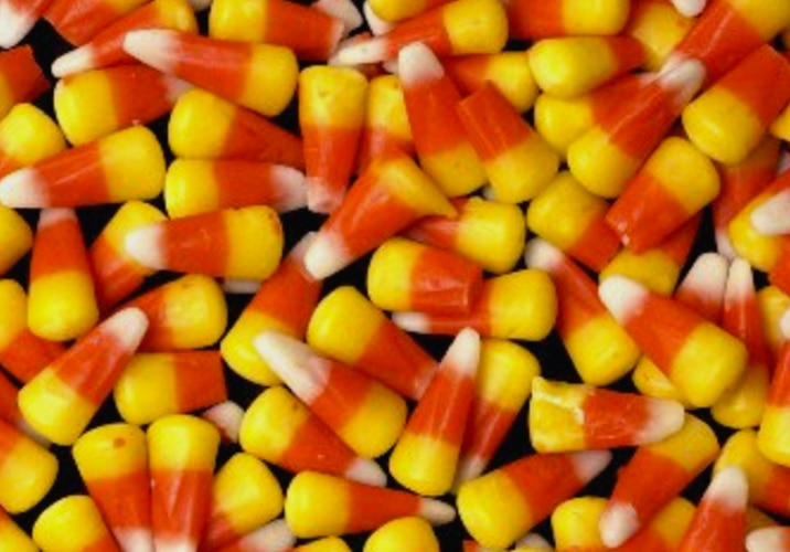 It's a shame that candy corn is Texans' favorite candy. Gross!