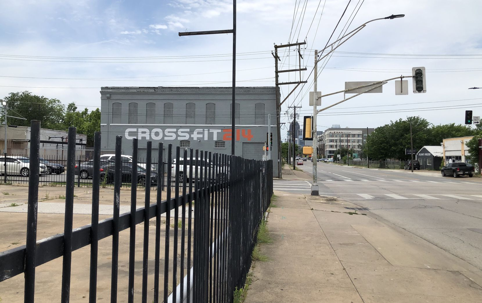 Developer Pollack Shores plans to build at the corner of Ross and Peak just east of downtown Dallas.