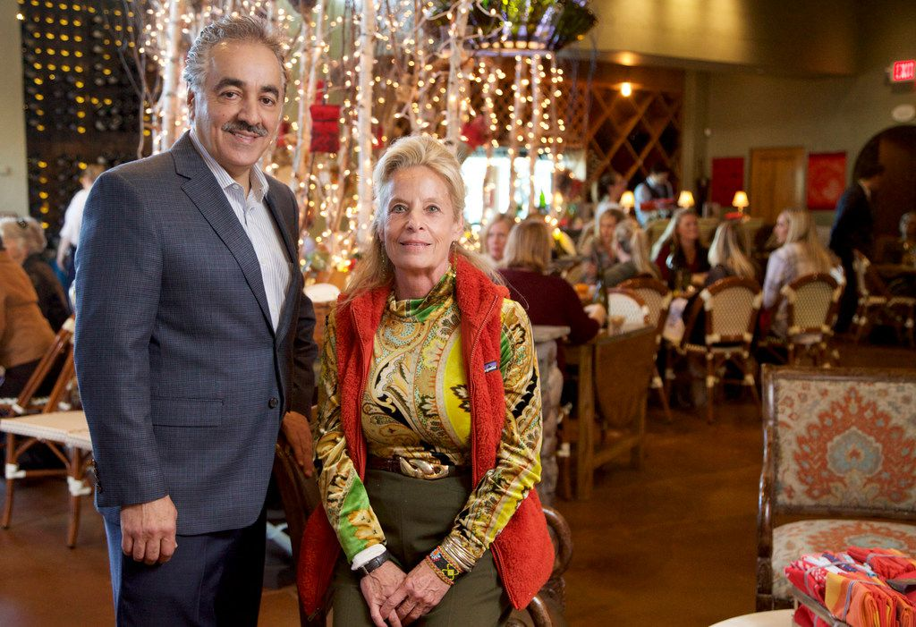 Restaurateurs Cherif Brahm and Hedda Dowd, at their Rise No 3 at the Shops of Clear Fork in Fort Worth in November. (Brandon Wade/Special Contributor)