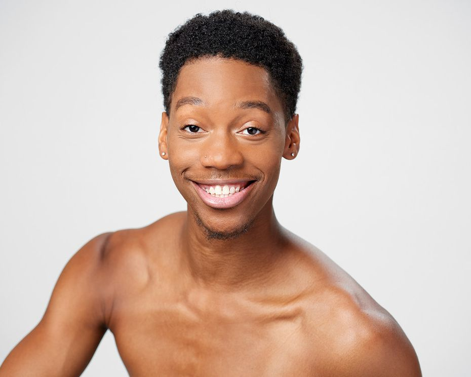 Dancer-choreographer My'Kal Stromile has created a new work, Mirror of the Effigy, for the junior company of Dallas Black Dance Theatre. Stromile was a member of the troupe from age 14 until he graduated from Booker T. Washington High School for the Performing and Visual Arts.