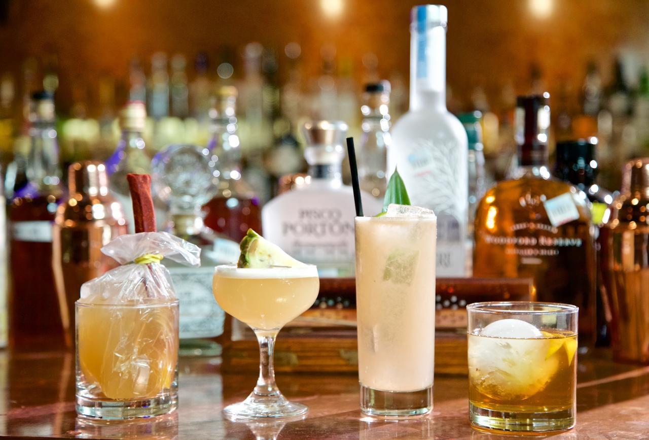 Los cocteles Rita de calle, Andean sour, guava collins y like cocoa like whiskey (ESPECIAL PARA EL DMN/BRANDON WADE)