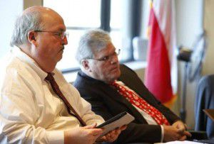 The man at left is Richard Tettamant, former administrator of the Dallas Police and Fire Pension System and the man responsible, in large part, for the $1.5 billion hole at the center of the fund's assets.