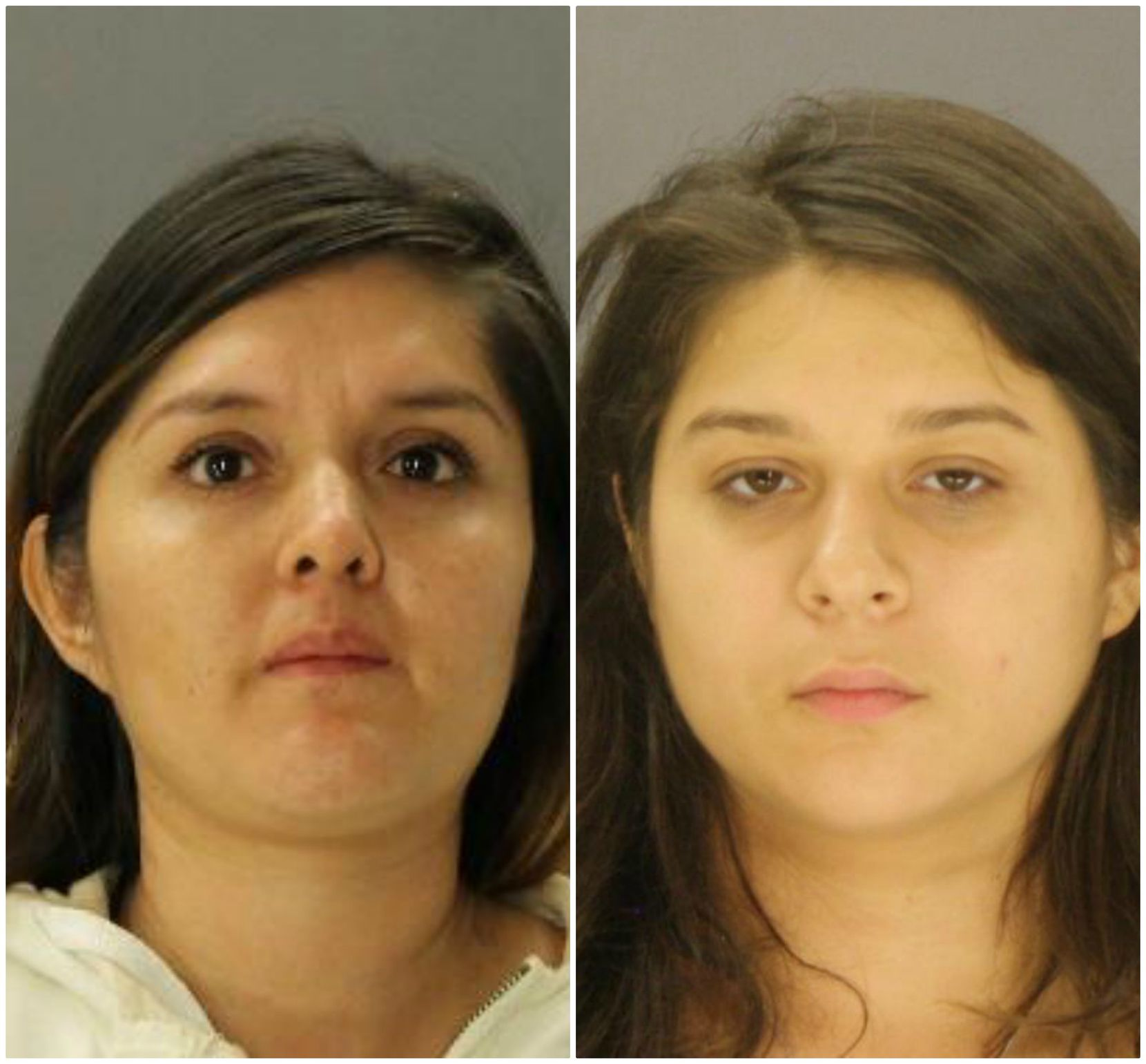 Brenda Delgado (left) and Crystal Cortes also face capital murder charges in the case. Authorities say Delgado set the plot in motion, and Cortes was the getaway driver.