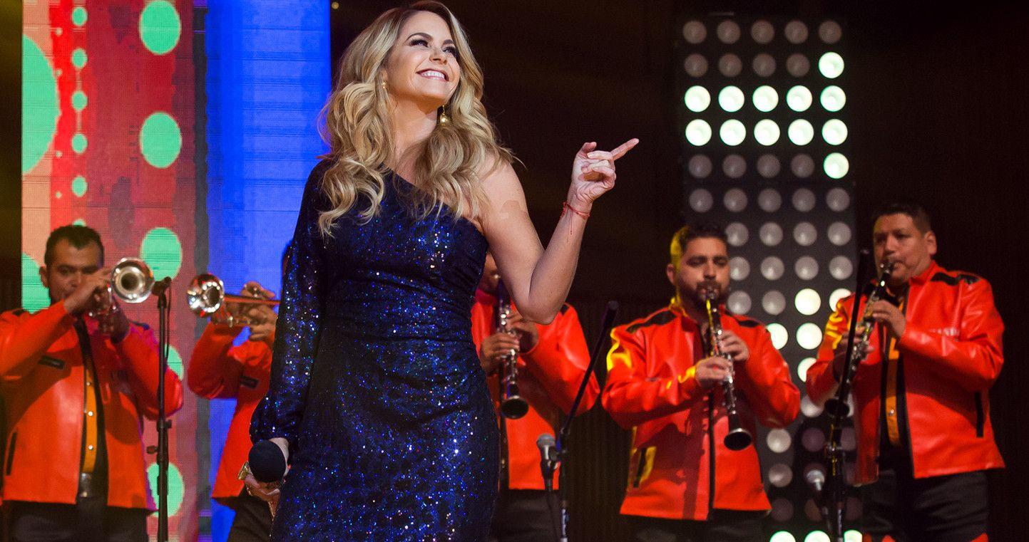 La cantante Lucero aseguró que, para ella, la banda es prima del mariachi, género en el que ha cantado repetidamente a lo largo de sus 25 años de trayectoria. /AGENCIA REFORMA