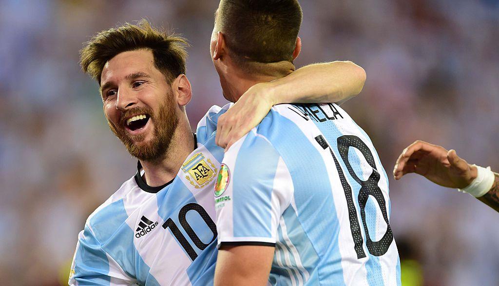 Messi acumula 5 goles con Argentina en esta copa. Foto GETTY IMAGES.