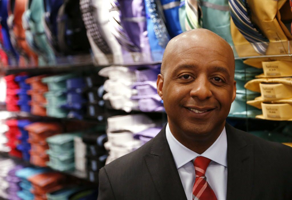 J.C. Penney president and CEO Marvin Ellison poses for a portrait at the J.C. Penney store at Stonebriar Centre in Frisco. He resigned from Penney on May 22, 2018, to join Lowe's as CEO.