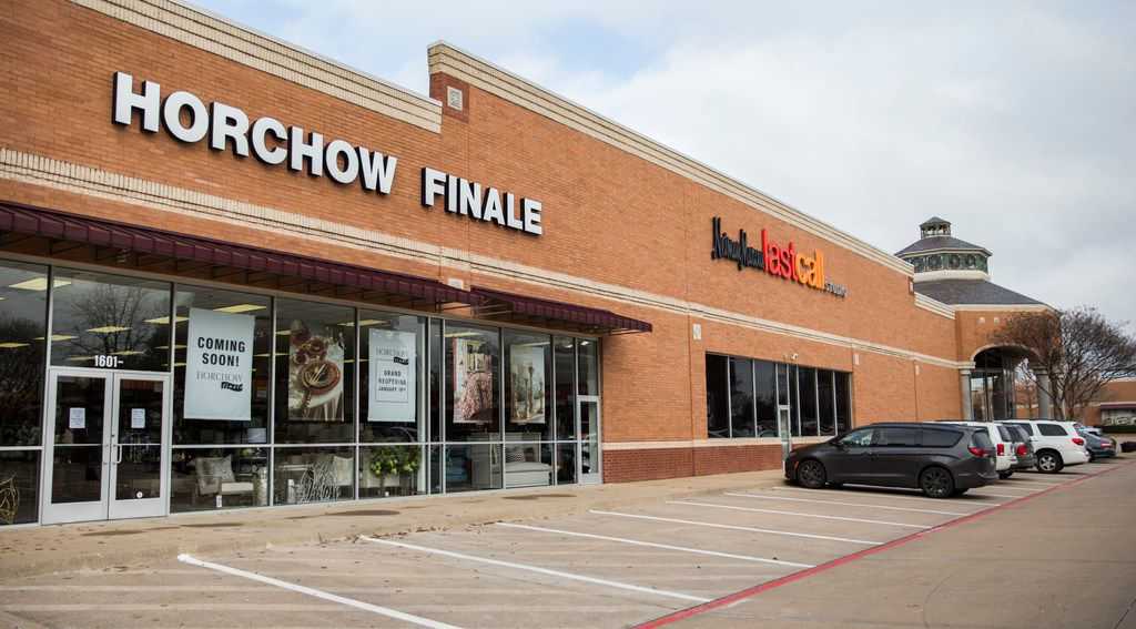 The exterior of Horchow Finale on Thursday, January 17, 2019 in Plano. Horchow Finale is an off-price home decor store associated with Neiman Marcus Last Call. (Ashley Landis/The Dallas Morning News)
