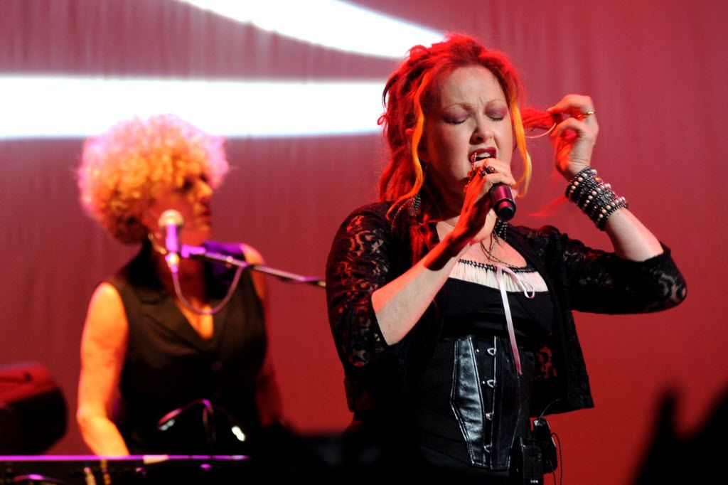 Cyndi Lauper plays a set on the Main Stage at House of Blues in Dallas,TX on June 26, 2013. (Alexandra Olivia/ Special Contributor)