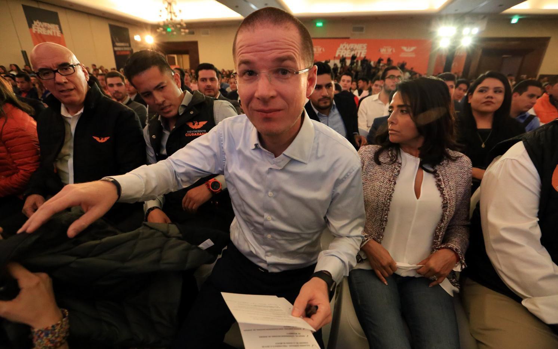 Ricardo Anaya, candidato del Partido de Acción Nacional(AGENCIA REFORMA)