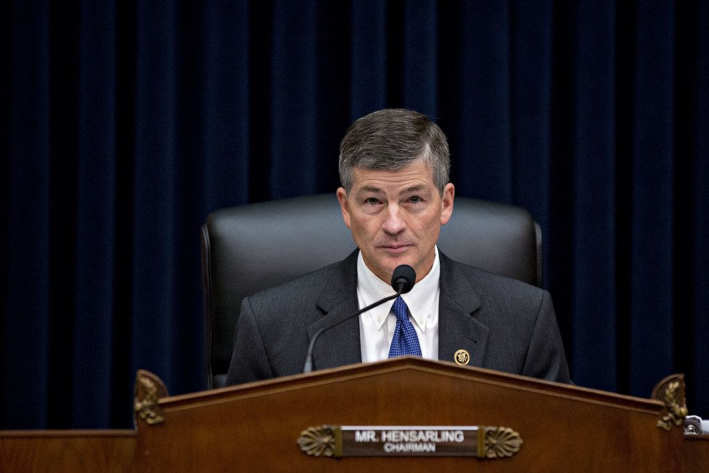 Rep. Jeb Hensarling, a Dallas Republican, has a mortgage from Wells Fargo. But after the company's recent sales scandal, he wishes he didn't.