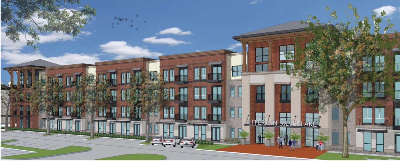 Developer JPI will build 371 apartments in the 52-acre Silverlake Crossing project.