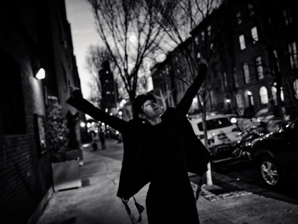 Michelle Shocked, photographed in her New York Chelsea neighborhood The Dallas Morning News