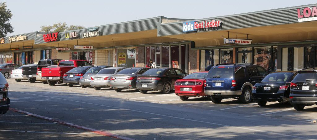 A section of the Wynnewood Village photographed Saturday February 13, 2016. The shopping center is located in Oak Cliff.  (Ron Baselice/ The Dallas Morning News)