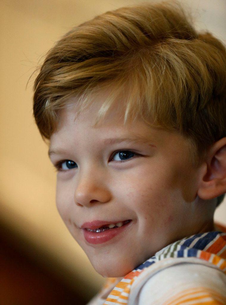 Will Woleben, 6, of McKinney, has a rare neurodegenerative disease called Leigh syndrome.